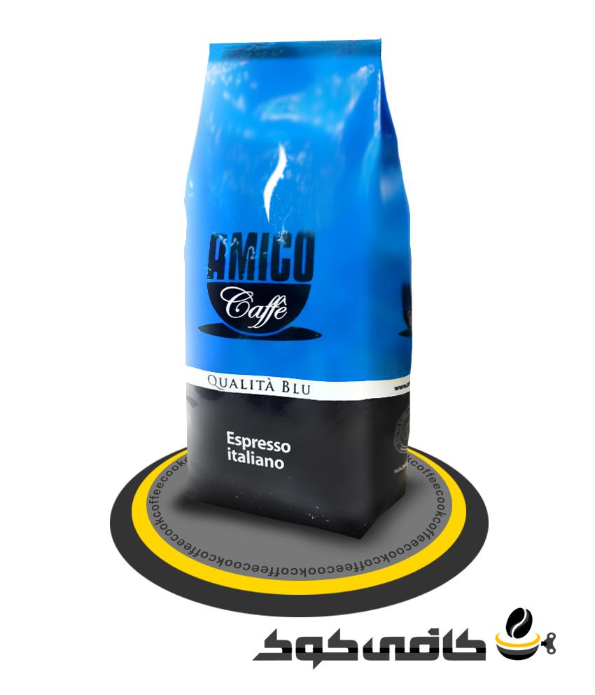 قهوه آمیکو آبی